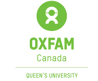 OXFAM at Queen's Logo