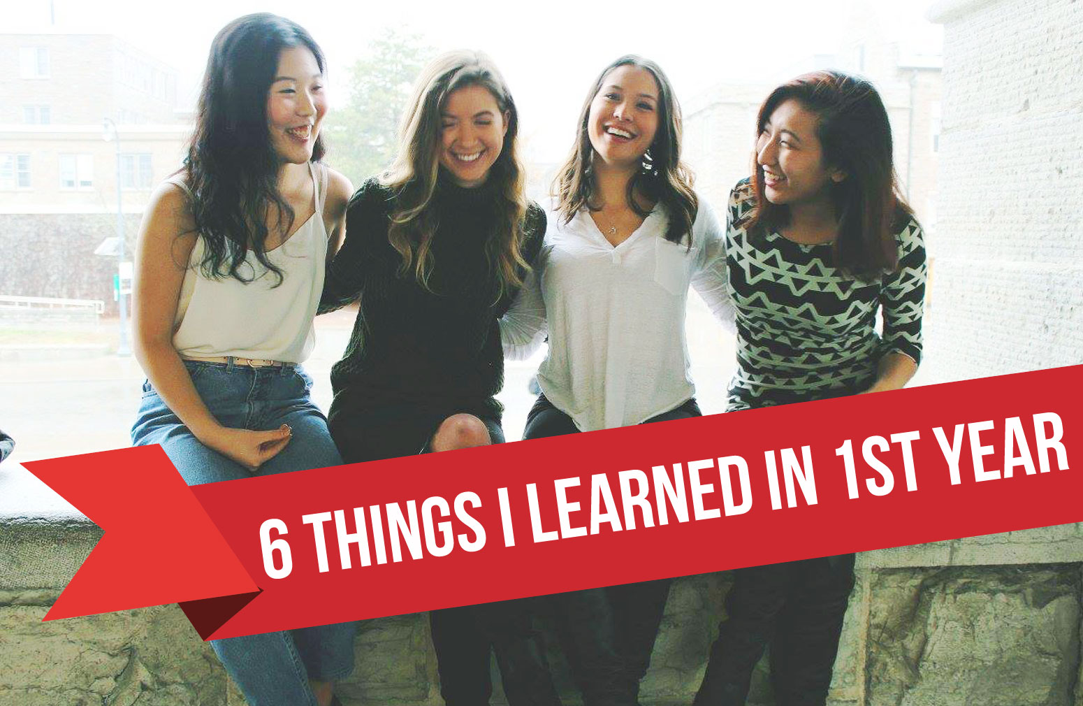 Six things I learned in first year