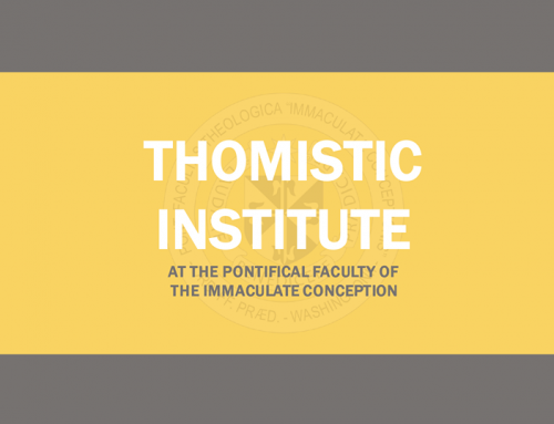 The Thomistic Institute at Queen's University