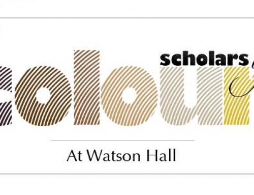 Scholars of Colour at Watson Hall