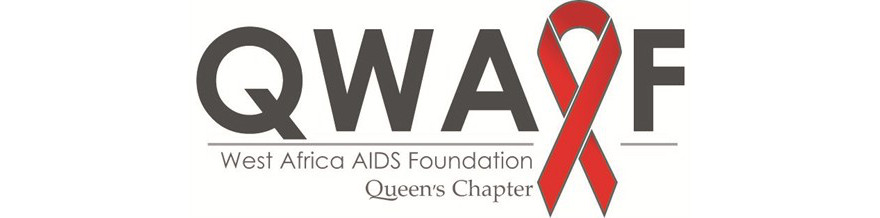 West Africa AIDS Foundation- Queen's Chapter Logo